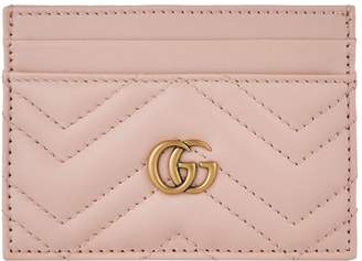 Gucci Leather Marmont Card Holder