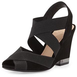 Tory Burch Debbie Crisscross Wedge Sandal