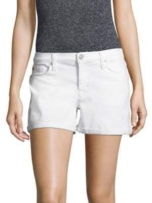 Hudson Asha Solid Cotton Shorts