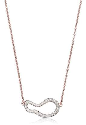 Monica Vinader Small Pod Diamond Necklace