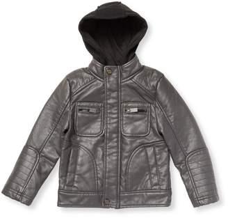 Urban Republic Buffalo Faux Leather Moto Jacket