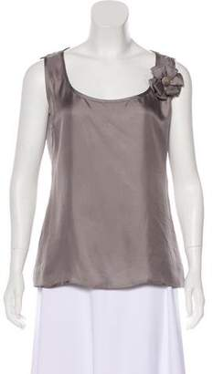 DSQUARED2 Sleeveless Silk Top