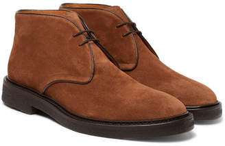 Mr P. - Lucien Suede Desert Boots - Dark brown