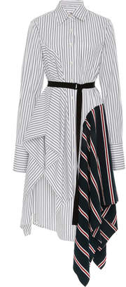 Tome Striped Poplin Shirt Dress