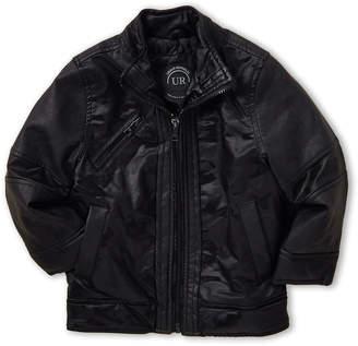 Urban Republic Toddler Boys) Camouflage Faux Leather Jacket