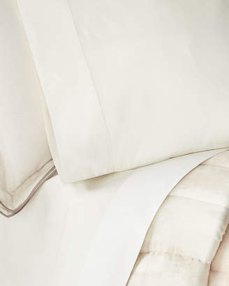 Michael Aram Striated Band Standard Pillowcases, Set of 2