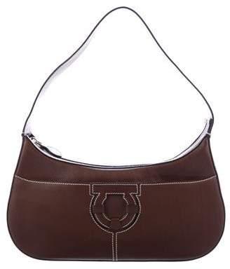 fb3f88bdb0 Salvatore Ferragamo Brown Shoulder Bags - ShopStyle