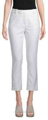 Rebecca Taylor Textured Cropped Pants