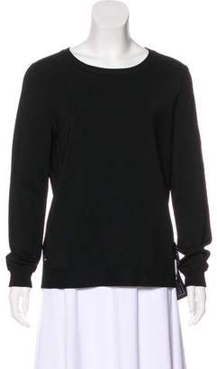 Herve Leger Long Sleeve Knit Sweater
