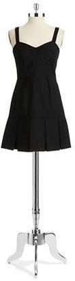 Ali Ro Seamed-Bodice Dress $288 thestylecure.com