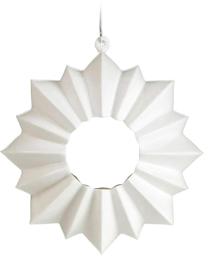 Kähler Design - Stella Teelichthalter hängend Ø 13,5 cm, Weiß