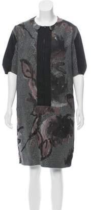 Marni Jacquard Shift Dress