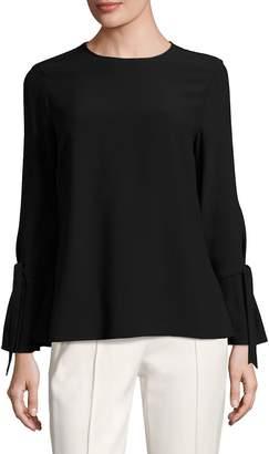 Escada Women's Nieluna Tie Sleeve Blouse