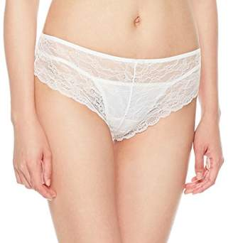 XoDo Intimates Women's Smooth Lace Cotton Inner Crotch Panty (