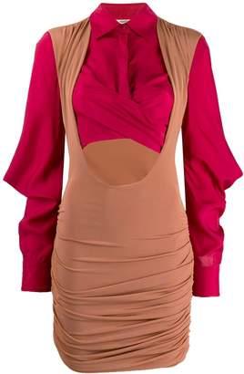 Roberto Cavalli cut-out bodycon dress