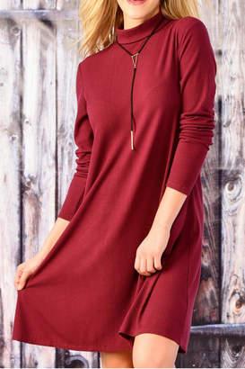 Paige Charlie Long Sleeve A Line Dress