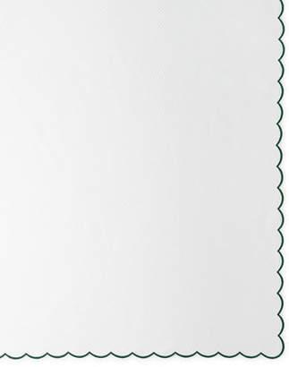 """Matouk Pique Tablecloth, 68"""" x 126"""""""