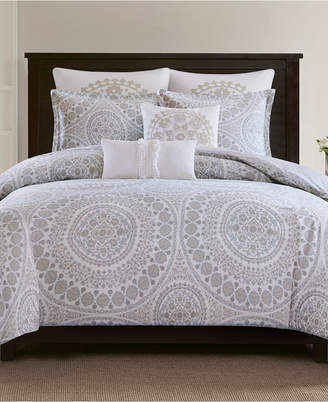 Echo Marco Cotton 3-Pc. King Duvet Cover Set Bedding