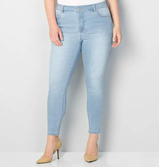 Avenue 1432 Skinny Jean in Light Wash 28-32