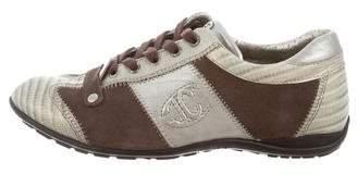 Just Cavalli Rouafa Suede Sneakers