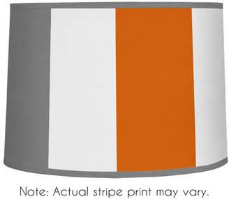 "JoJo Designs Sweet Stripe 10"" Brushed Microfiber Drum Lamp Shade"