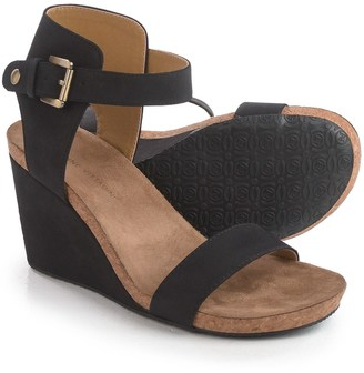 Adrienne Vittadini Ted Wedge Sandals - Suede (For Women) $39.99 thestylecure.com