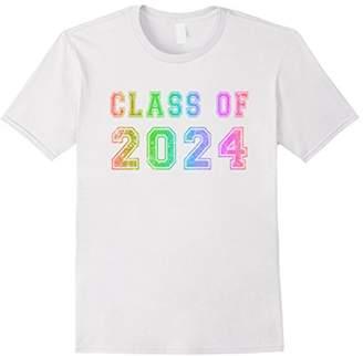 Class Of 2024 High School Graduation Date Graduate T Shirt