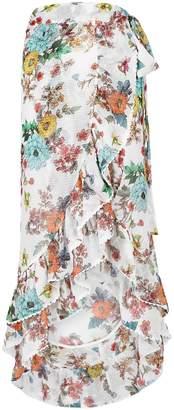 Pilyq Wild Flower Kiki Gauze Wrap Skirt