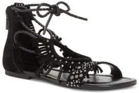 Jessica Simpson Kylea Suede Flat Sandals