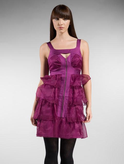 Mint Tzara Cut Out Dress