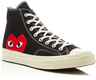 Comme des Garcons Converse Chuck Taylor High Top Sneakers