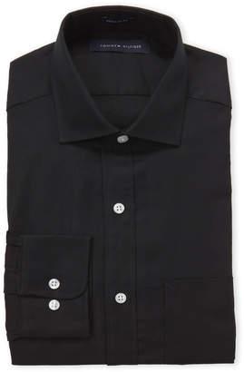 Tommy Hilfiger Black Regular Fit Dress Shirt