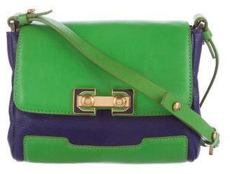 Marc by Marc Jacobs Bicolor Leather Crossbody Bag $75 thestylecure.com