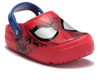 Crocs Fun Lab Spiderman Lights Clog (Little Kid)