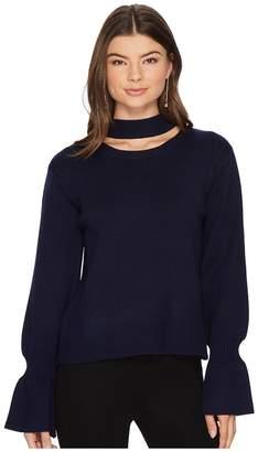 J.o.a. Choker Neck Pullover Women's Sweater