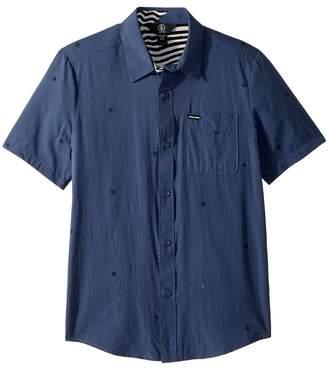 Volcom Bleeker Short Sleeve Shirt Boy's Short Sleeve Button Up