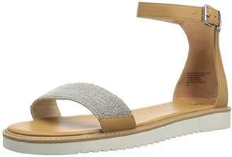 BC Footwear Women's Price of Admission Flat Sandal,9.5 M US
