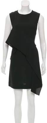 Diane von Furstenberg Ruffle-Trimmed Knee-Length Dress w/ Tags