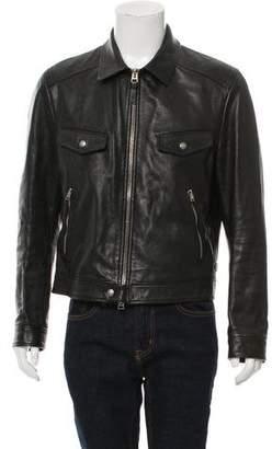 Tom Ford Goatskin Leather Jacket