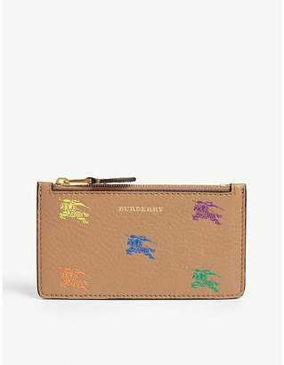 Burberry Somerset leather card holder