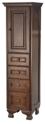 Foremost Hawthorne Bathroom Floor Cabinet - Dark Walnut