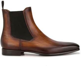 Magnanni Chelsea square toe boots