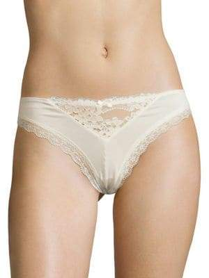 Honeydew Intimates Willow Lace-Trimmed Thong
