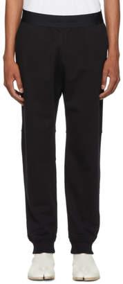 Helmut Lang Black Logo Elastic Lounge Pants