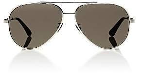 Saint Laurent Women's Classic 11 Sunglasses-Silver