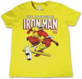 Iron Man Marvel Comics Officially Licensed Merchandise The Invincible Kids T Shirts - Years