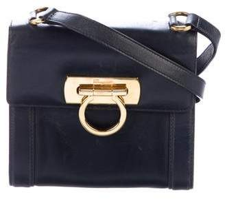 Salvatore Ferragamo Mini Leather Crossbody Bag