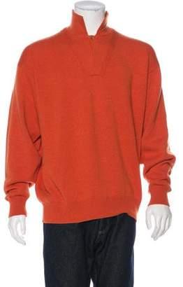 Loro Piana Cashmere Polo Sweater