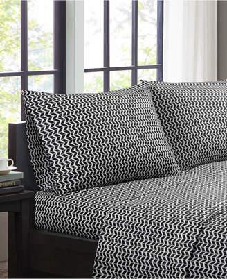Jla Home Intelligent Design Chevron 3-pc Twin Microfiber Sheet Set Bedding