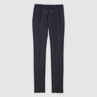 Sandro Smart flannel trousers